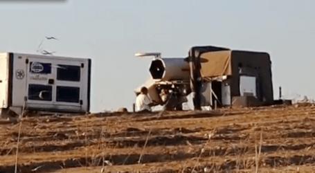 El ejército israelí despliega un sistema de defensa láser en la frontera de Gaza