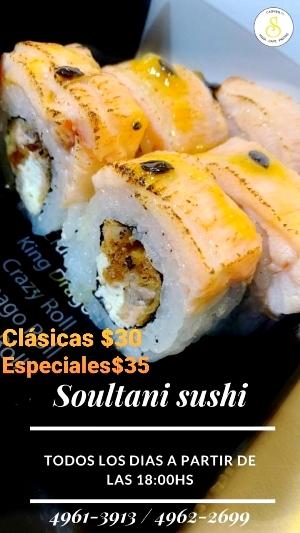 Nuevo. Soultani Pizza & Sushi