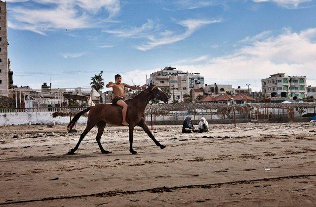 Gaza Beach - Tanya Habjouqa