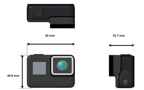 gopro2 700x481 GoPro Hero 5實機外觀再曝 鏡頭更突出、加入聲控操作