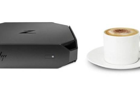 T HP Z2 Mini to scale expresso cup C tcm245 2364647 CT tcm245 1085601 32 resize HP推出體積縮減90%的迷你工作站Z2 Mini 仍可對應流暢3D繪圖效能