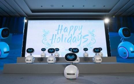 resize Zenbo於見面會上帶來充滿聖誕溫馨氣氛的歌聲與舞蹈 華碩首款機器人Zenbo正式登台 新台幣兩萬元內即可入手!