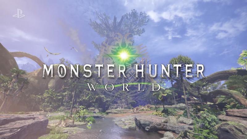 0001558135 resize 《魔物獵人 世界》揭曉 以更生動畫面登上次世代機種