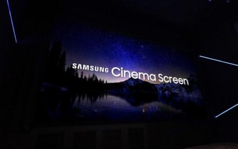 resize Cinema LED Screen PR main 3 三星以單片巨幅Cinema LED螢幕於南韓打造小型電影院