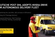 NVIDIA GTC Europe  Pre Briefing 03 NVIDIA與DHL合作 預計2019年開始提供全年無休自動駕駛貨運服務