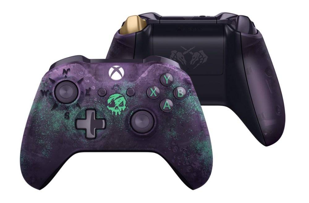 設計精美神秘的Xbox《盜賊之海》限量版無線控制器即將登場。 1024x675 《盜賊之海》確定明年3/20推出 將推限量款骷髏頭裝飾Xbox無線控制器
