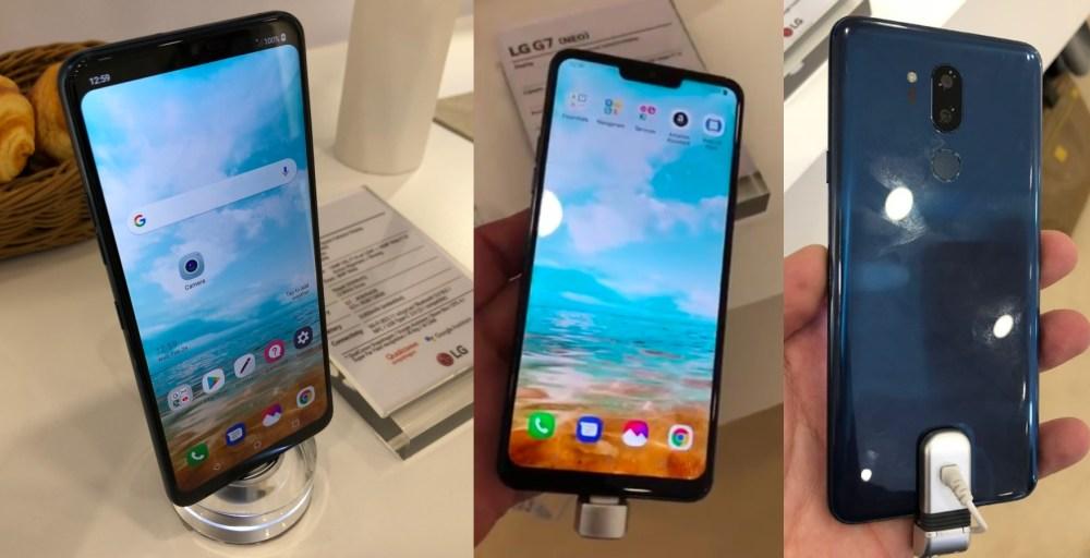 G7 1024x524 LG G7確實將採用「瀏海」造型全尺寸螢幕、機身側面將新增按鍵