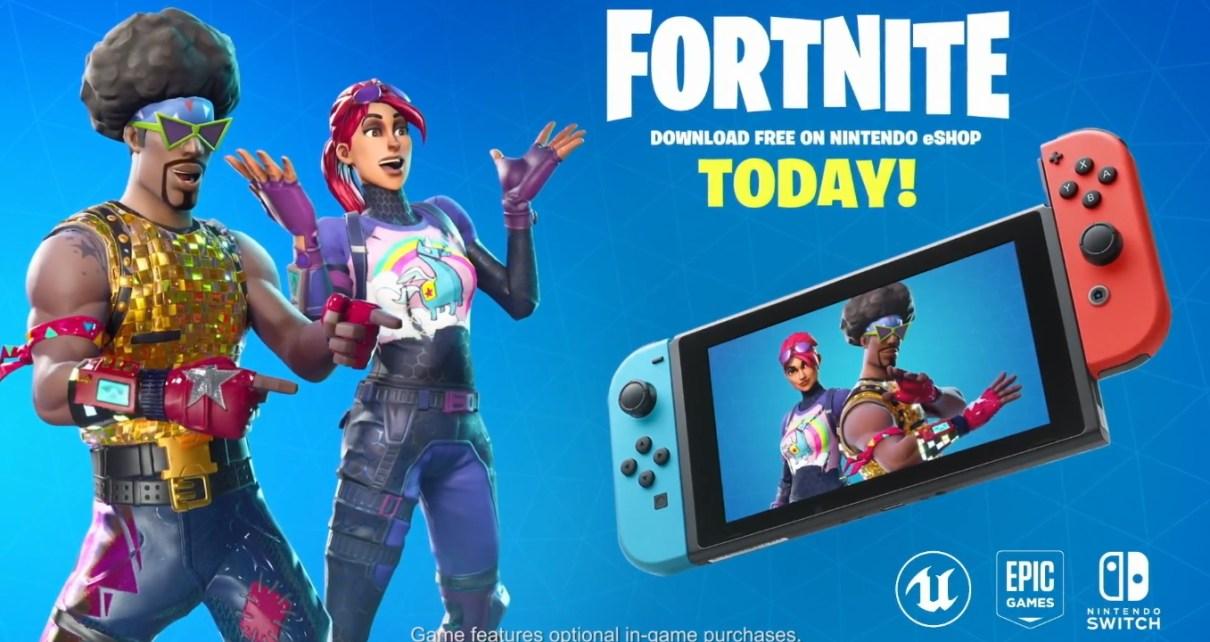 182d9afe0c8139dd59be9a53e61166e5 《要塞英雄》確認進駐Nintendo Switch 支援掌機或大尺寸螢幕遊玩體驗