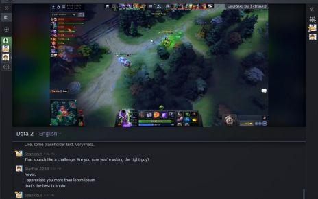 watching a stream steam tv 結合本身豐富遊戲收藏量 Valve計畫在Steam平台加入線上直播功能