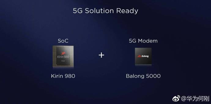 632e613agy1fuw39rwabej21kw0s4abd 華為確認將以Kirin 980搭配5G連網晶片對應首波5G連網市場需求