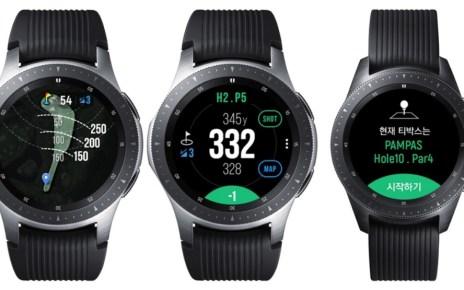 collage 5 Galaxy Watch Golf Edition款式揭曉 針對高爾夫球運動使用設計