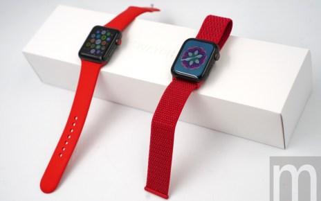 DSC08948 動眼看/繼iPhone XR後推出的Apple Watch (PRODUCT)RED計畫款紅色運動錶環