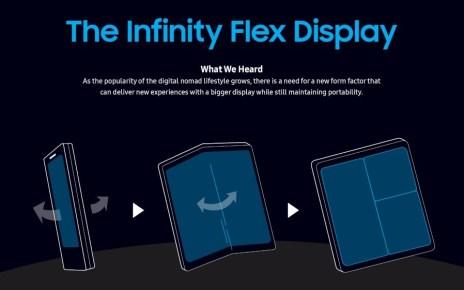 sdc2018 mobile display innovation main 1 2 三星螢幕可凹折手機預計明年3月推出 售價可能超過1700美元