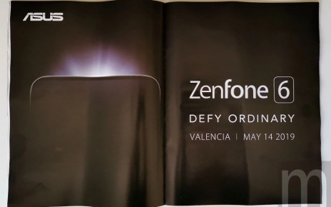 20190222 Asus ZenFone 6 teaser 採更高顯示佔比設計,華碩證實將於5/14揭曉全新ZenFone 6