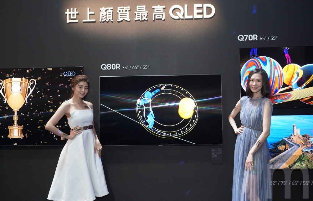 DSC02144 加入支援蘋果iTunes、AirPlay 2投放 三星2019年款QLED量子電視在台揭曉