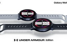 新聞照片1 Galaxy Watch Active 2確定推出Under Armour獨家聯名款