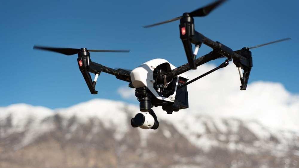 drone 1200x675 1024x576 NTT TechnoCross新技術可讓8K影像邊壓縮邊傳輸,容量僅原本十分之一