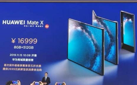 20191023151115183 華為有可能再次延後螢幕可凹折手機Mate X上市時間