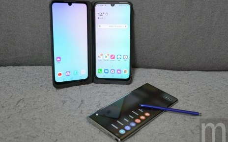DSC06974 比一比/具獨立雙螢幕的LG G8X ThinQ、對比帶筆的Galaxy Note 10,誰是多工之王?