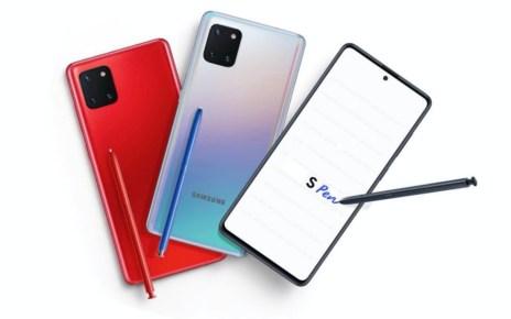 mashdigi capture 2019 12 23 上午10.19.34 Galaxy Note 10 Lite僅採舊規處理器,預計明年1/10上市