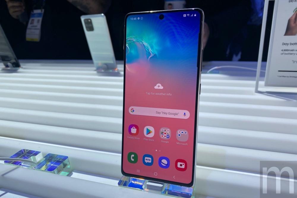 IMG 1295 動眼看/希望打入更多市場的Galaxy S10 Lite與Galaxy Note 10 Lite