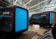 20191112RivianAmazon js 33 Rivian揭曉為亞馬遜客製化打造的電動貨車特色,預計2022年上路運作
