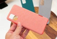 IMG 8224 對應Galaxy S20系列的配件動眼看,布紋材質款式首度亮相
