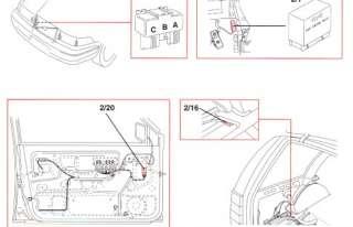 Электросхемы для грузовых автомобилей Volvo Truck FH12