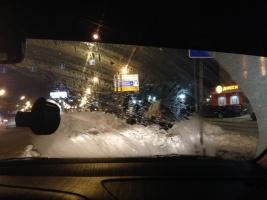 پنجره های یخ زده در خودرو