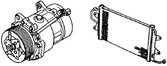 Отопитель или кондиционер с отопителем в сборе Skoda