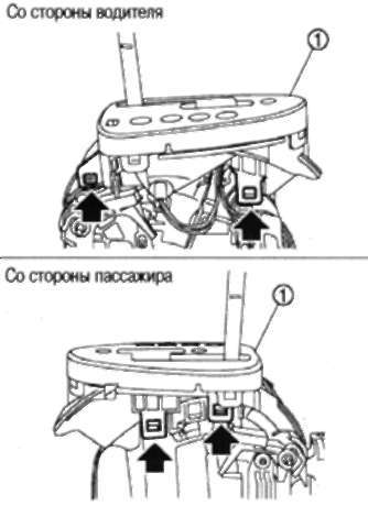 МЕХАНИЗМ УПРАВЛЕНИЯ Nissan Qashqai 2007+