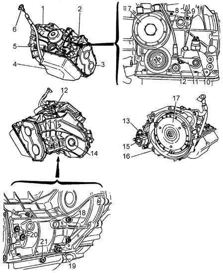 Описание привода Peugeot 405 1987-1997