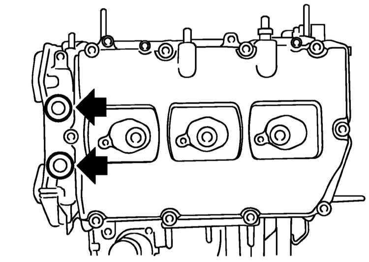 Снятие и установка распределительных валов Subaru Legacy