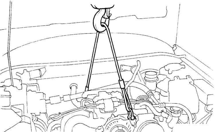Снятие и установка поддона картера и маслозаборника Subaru