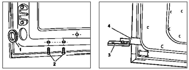 Снятие и установка газонаполненного упора двери задка