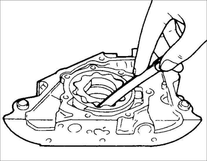 Ремонт масляного насоса Kia Sephia 1995-2001