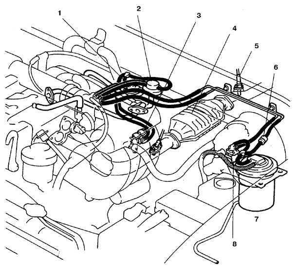 Система снижения токсичности отработанных газов Toyota