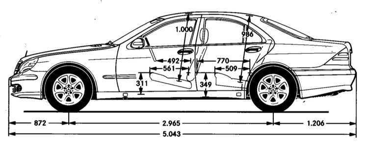 Руководство по эксплуатации Mercedes-Benz W220 1998-2005