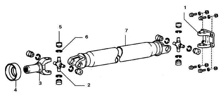 Карданный(е) вал(ы) и карданные шарниры Toyota 4runner