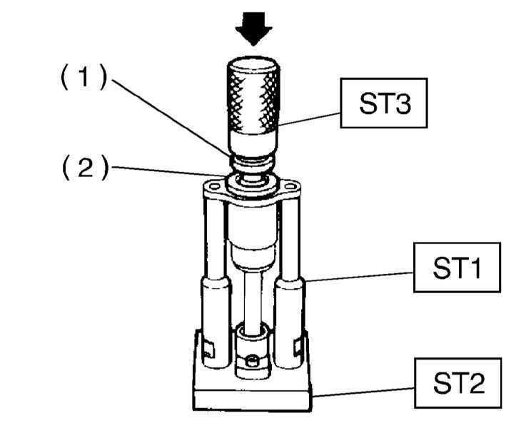 Снятие, обслуживание и установка рулевого механизма Subaru