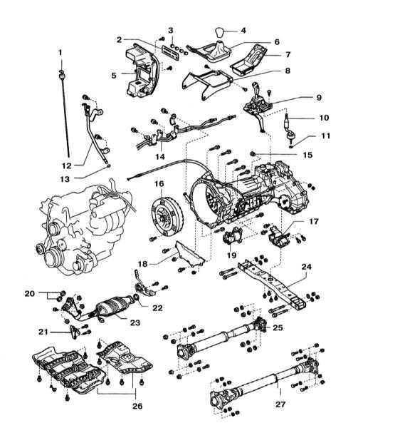 Снятие и установка автоматической трансмиссии Toyota Land