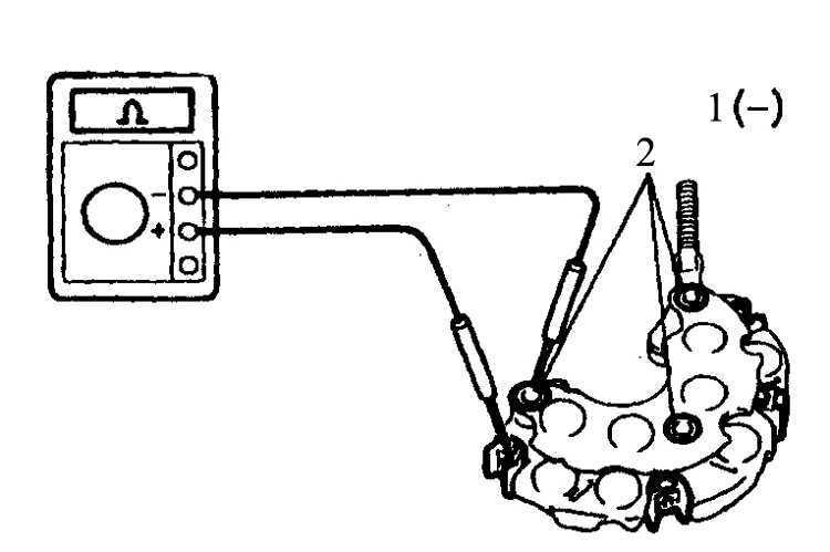 Детали генератора Toyota 4runner 1987-1998