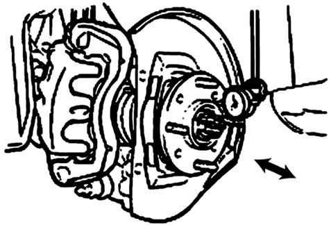 Передние дисковые тормоза Hyundai Sonata 2001-2005