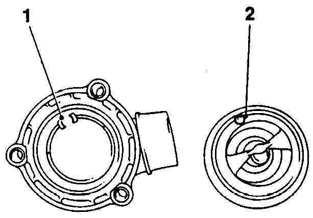 Система охлаждения дизельного двигателя 2,5 литра Opel
