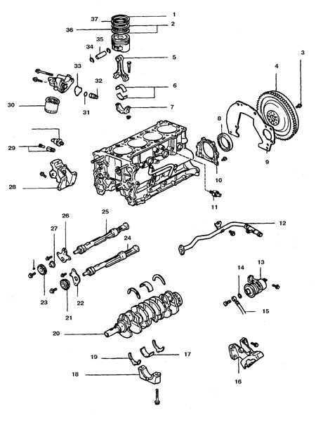 Порядок разборки двигателя Toyota 4runner 1987-1998
