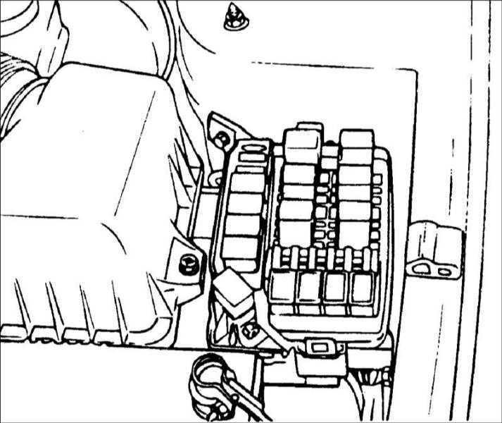 Выключатель и реле системы кондиционирования воздуха