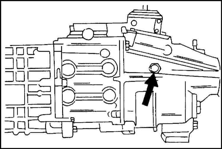 Замена трансмиссионного масла РКПП и раздаточной коробки