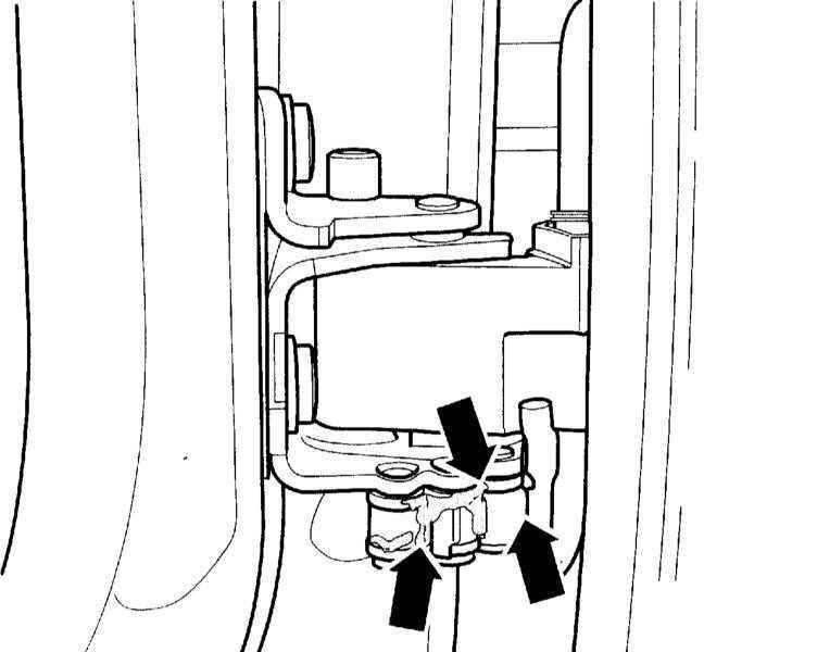 Смазка ограничителей дверей, цилиндров замков, крючка