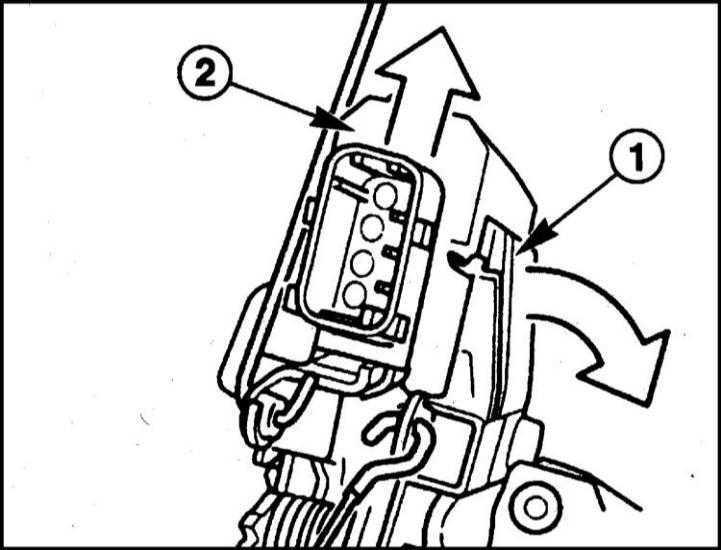 Снятие и установка электродвигателя/ микровыключателя