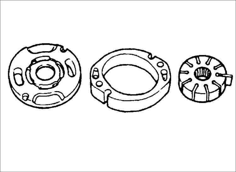 Ремонт насоса усилителя рулевого управления Kia Sephia